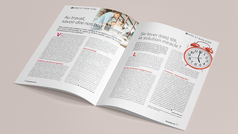 N° 332 du magazine de santé MUTUALISTES. Pages 10-11.