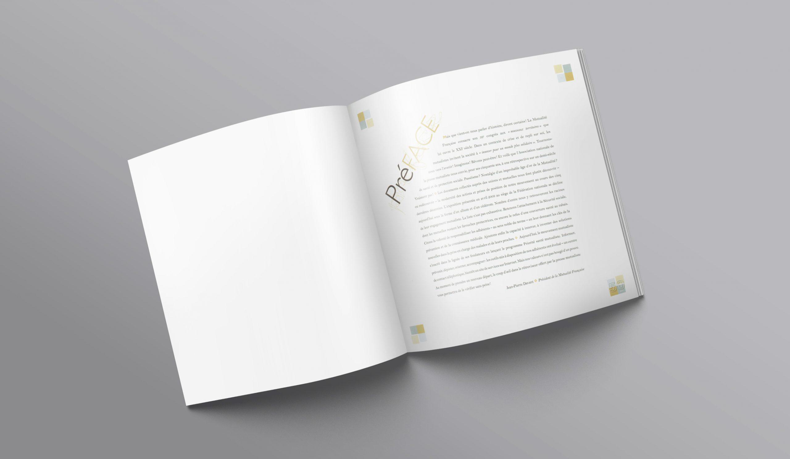 Préface de la brochure des 50 ans de la Presse Mutualiste