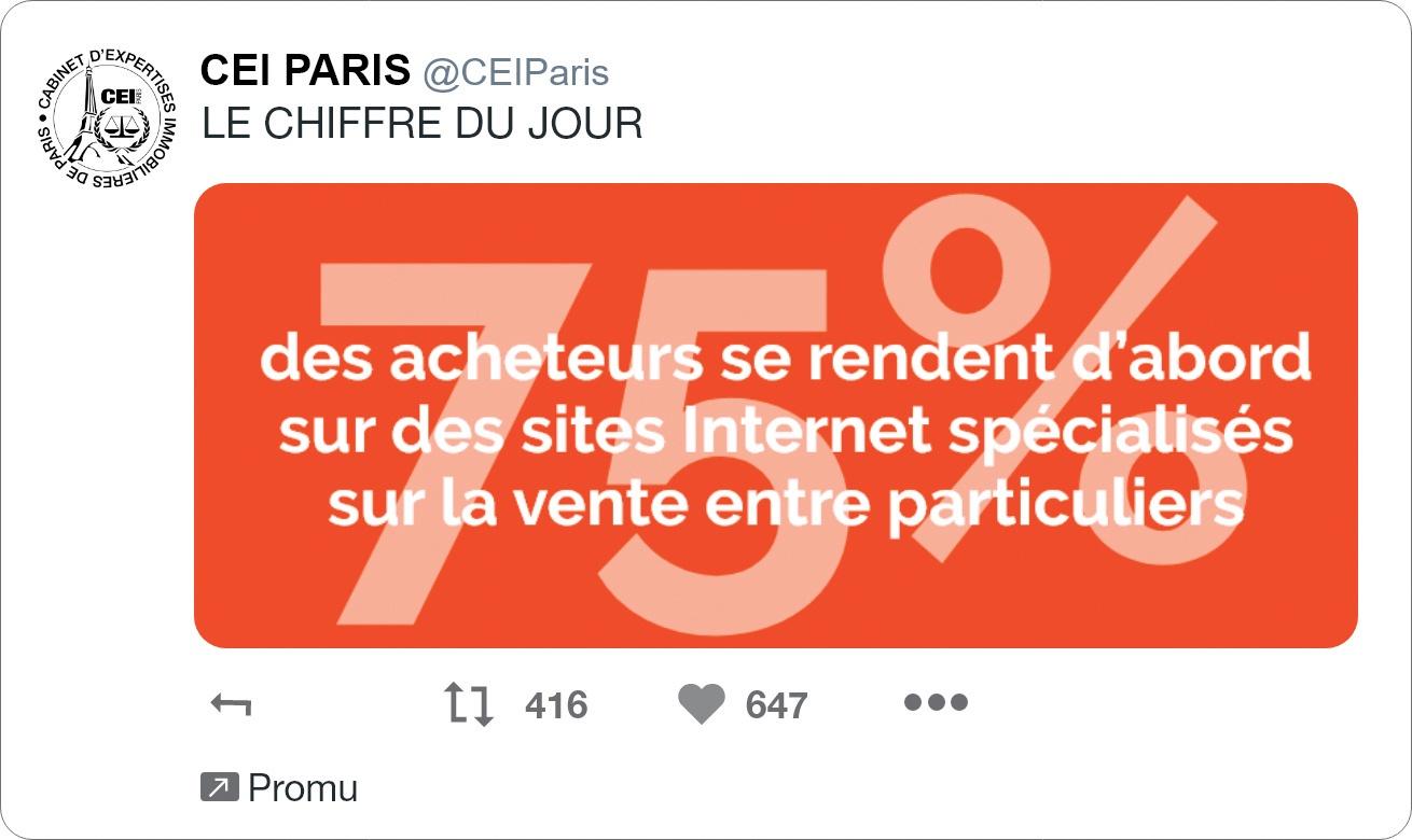 Post Twitter Le Chiffre du Jour
