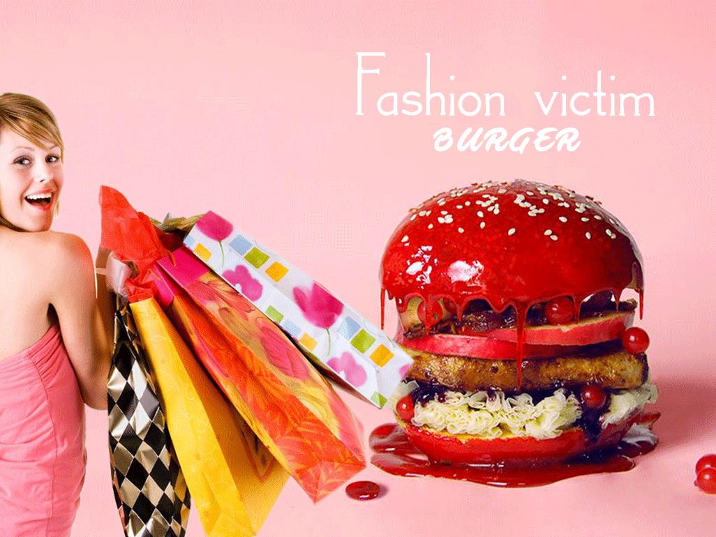La FASHION VICTIM et son Burger