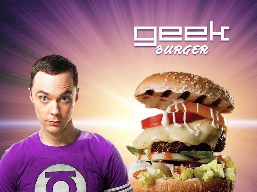 Le GEEK et son Burger