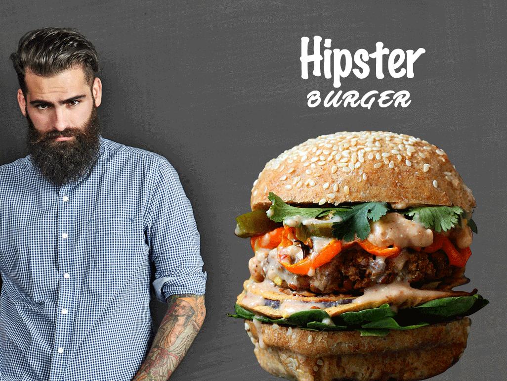 Le HIPSTER et son Burger