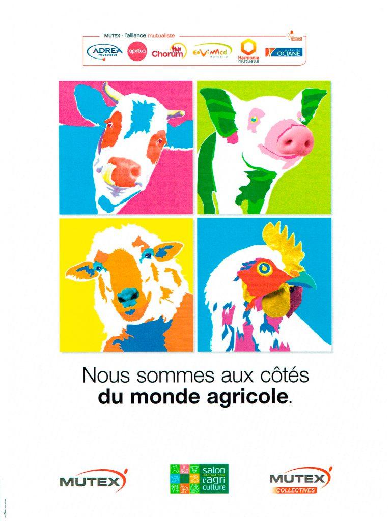 Affiche pour le Salon de l'Agriculture