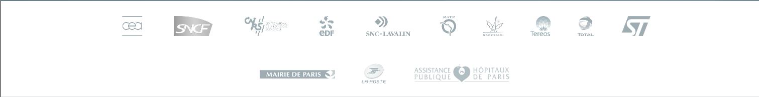 Logo des clients de CBC Bureau d'Études