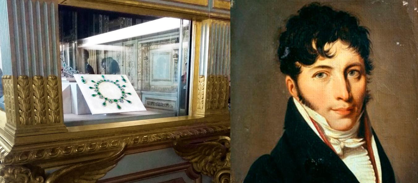 Le collier de Marie-Louise au Musée du Louvre et François R NITOT