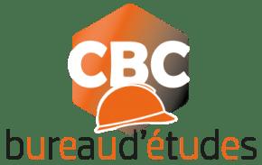 Logo CBC BUREAU D'ÉTUDES en couleurs, Orange et Noir