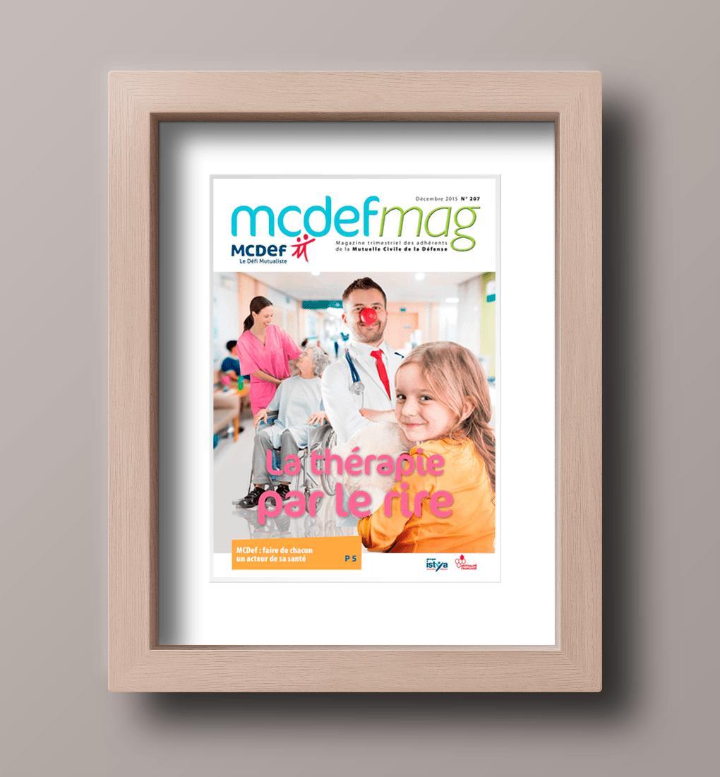 Couverture du Magazine N° 207 de MCDEF MAG