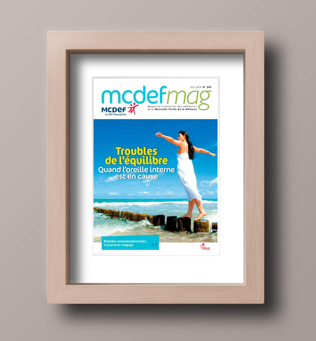 Couverture du Magazine N° 209 de MCDEF MAG
