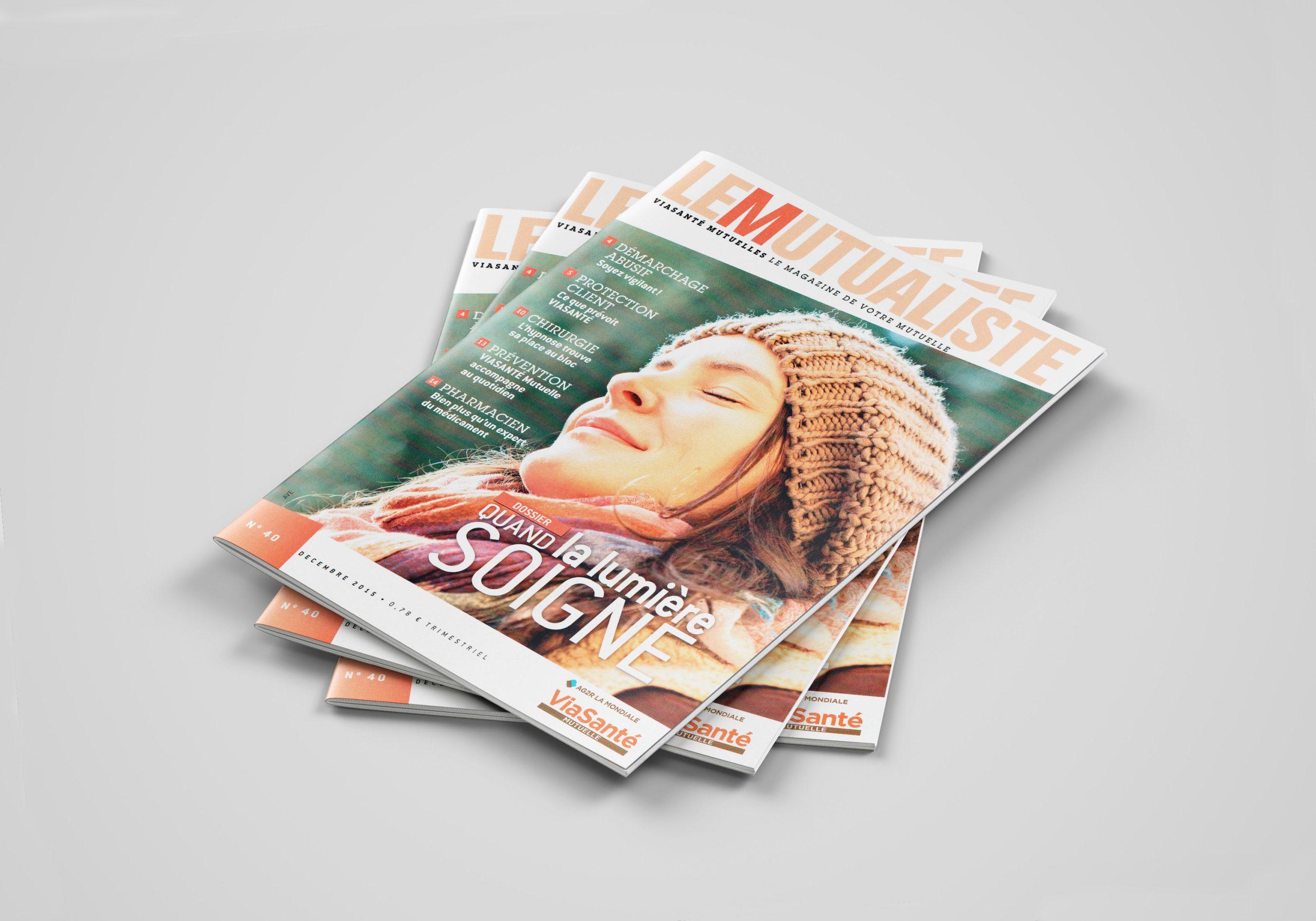 Couverture du N°40 du magazine de santé LE MUTUALISTE