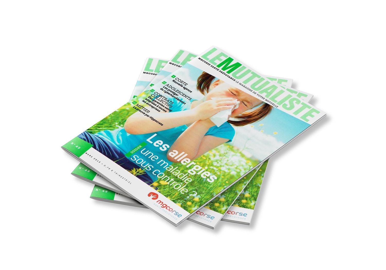Un tas de magazines de