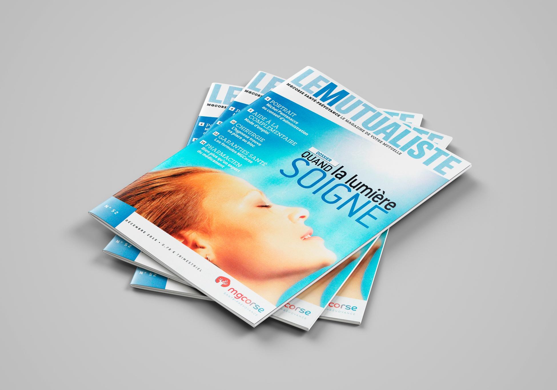 Couverture du N°52 du magazine de santé LE MUTUALISTE