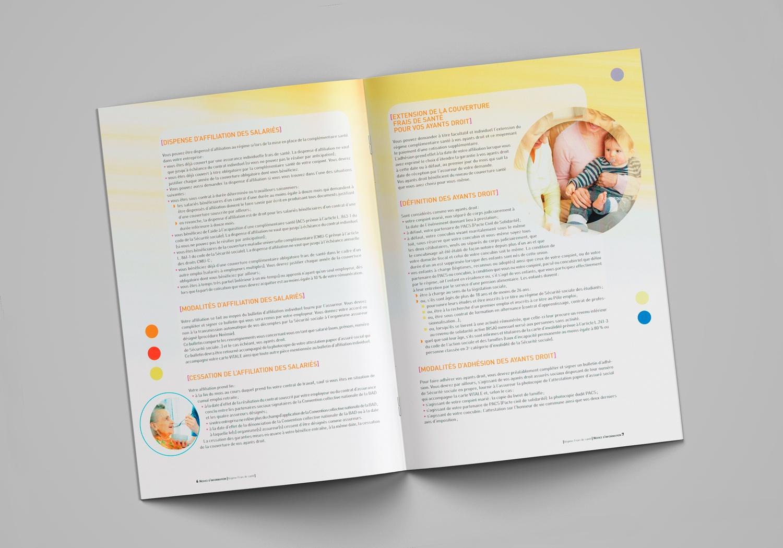 Brochure d'AG2R la Mondiale. Notice d'information. Page 6-7