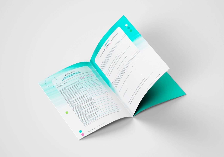 Brochure d'AG2R la Mondiale. Notice d'information. Page 18-19. Régime de maintien de salarié et prévoyance.