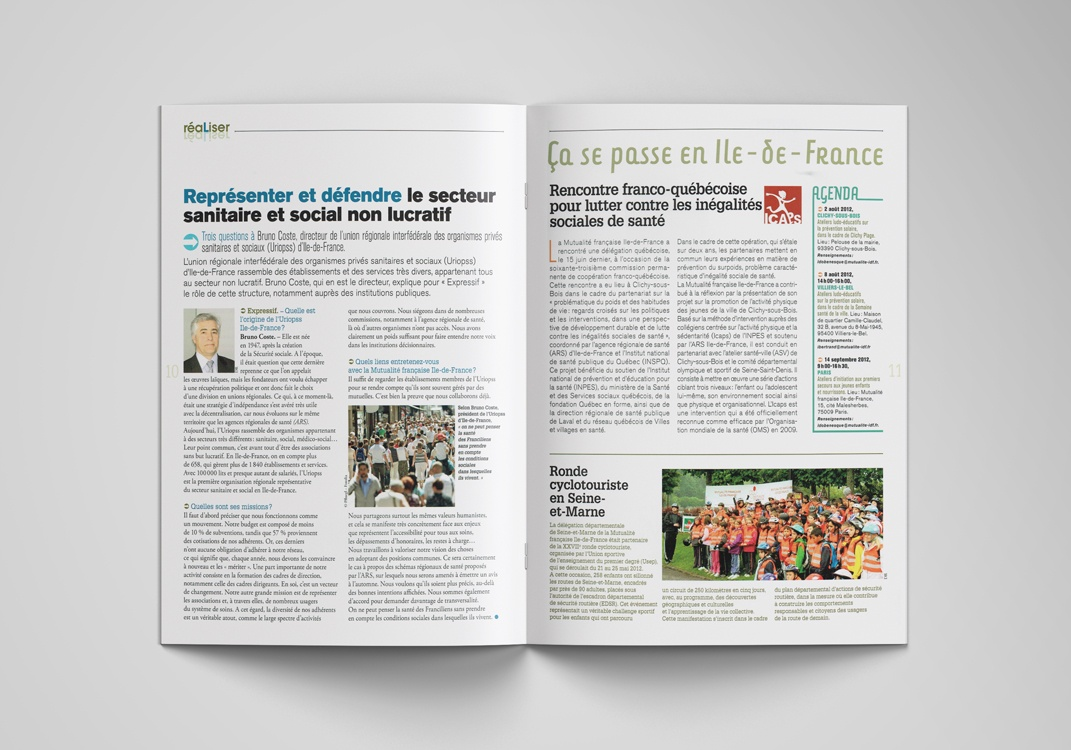 Magazine EXPRESSIF, pages 10-11