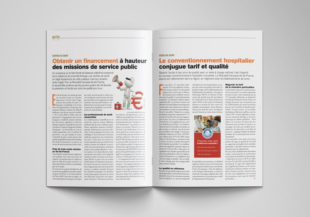 Magazine EXPRESSIF, pages 4-5