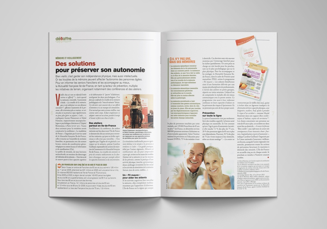 Magazine EXPRESSIF, pages 6-7