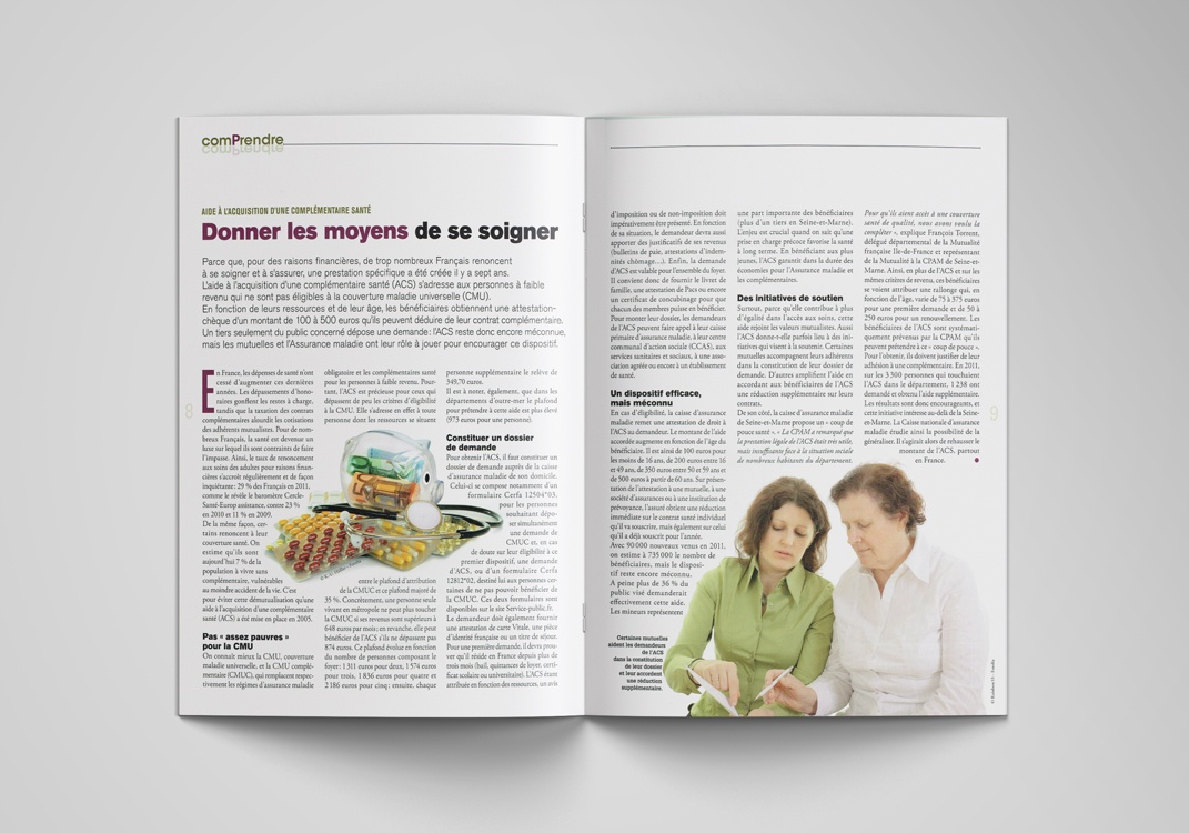 Magazine EXPRESSIF, pages 8-9