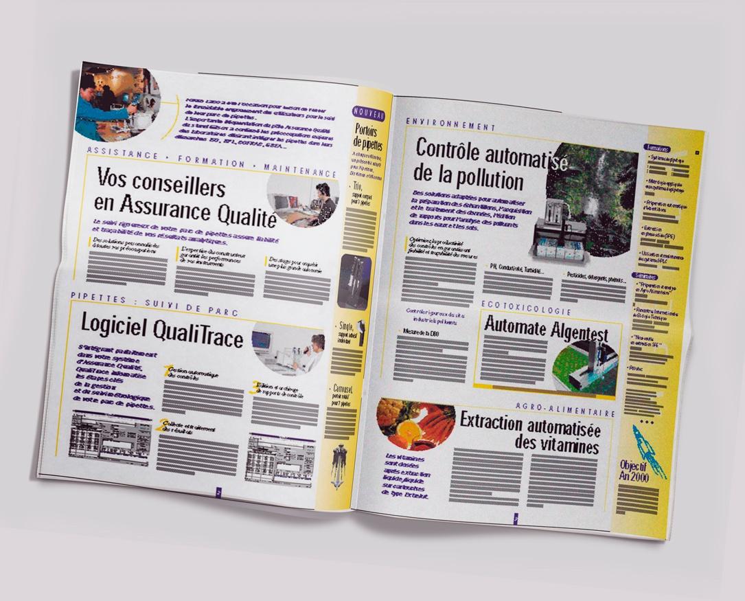 GILSON Lab, le journal d'entreprise de GILSON. Pages 2-3