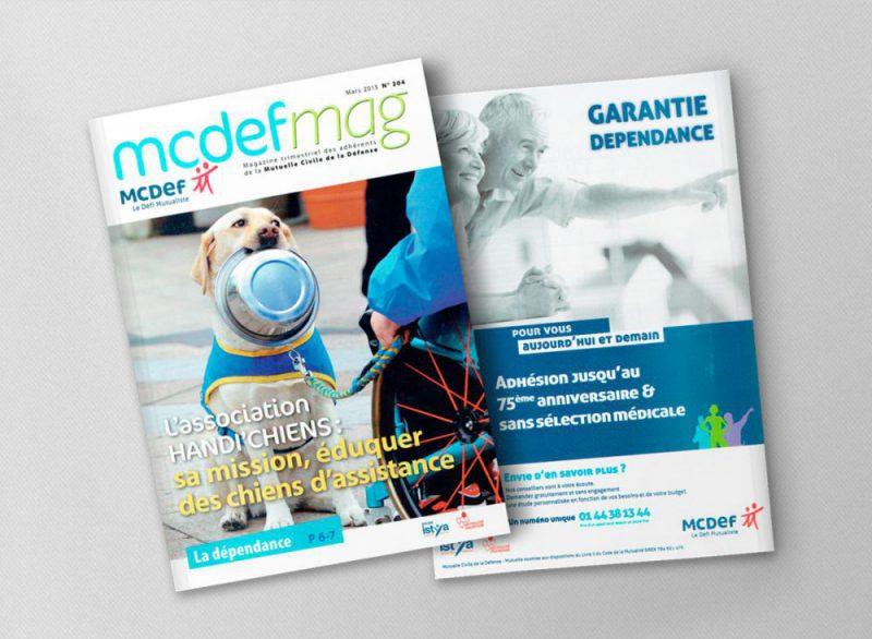 MCDEF MAG N°204, Couverture et dos du magazine.
