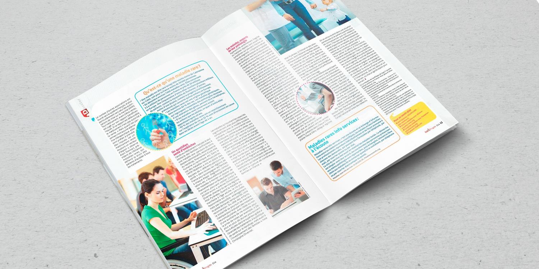 """RAIL & PROGRÈS pages 3 et 4 """"Dossier"""" Maladies rares..."""