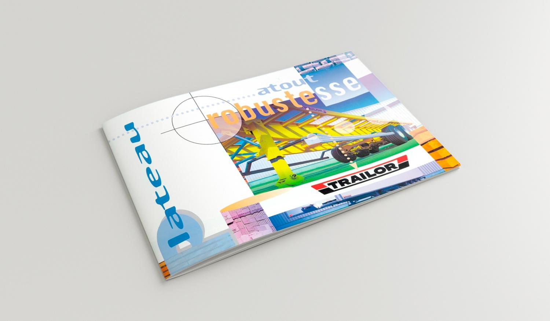 """Couverture du catalogue """"Plateau"""" de Trailor."""